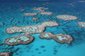 Great Barrier Reef islands Stock Photography