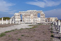The Great Basilica at the first Bulgarian capital Stock Photos