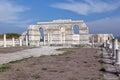 The Great Basilica at the first Bulgarian capital Stock Photos