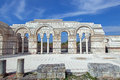 The Great Basilica at the first Bulgarian capital Royalty Free Stock Image