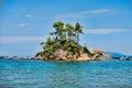 Great beach on the Greek island of Evia Royalty Free Stock Photo