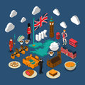 Great Britain Concept Composition Royalty Free Stock Photo