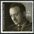 GREAT BRITAIN - 1985: shows David Niven (1910-1983), by Cornel Lucas, series 20th Centenary Stars and Directors of Film Royalty Free Stock Photo