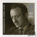 GREAT BRITAIN - 1985: shows David Niven 1910-1983, by Cornel Lucas, series 20th Centenary Stars and Directors of Film Royalty Free Stock Photo