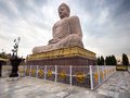 The Great Buddha Statue in Bodhgaya, India Royalty Free Stock Photo