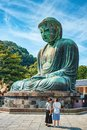Great Buddha statue, Kamakura Royalty Free Stock Photo