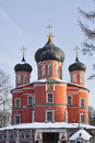 Great cathedral big cathedral of the theotokos icon of the don donskoy monastery Royalty Free Stock Photos