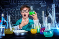 Great chemical discovery Royalty Free Stock Photo