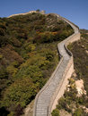 Great chinese wall Royalty Free Stock Image