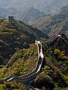 Great chinese wall Royalty Free Stock Photo