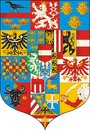 Great Coat of arms ( Austria 1915) Royalty Free Stock Photography