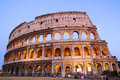 Great Colosseum at dusk, Rome, Italy Royalty Free Stock Photo