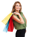 Great day of shopping Stock Image