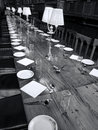 Great Dining Hall of  Christ Church  College Oxford University Royalty Free Stock Photo