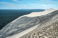 Great dune of pyla the tallest sand in europe arcachon bay france Stock Image