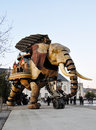 The Great Elephant in Nantes Royalty Free Stock Photo