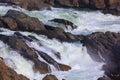Great Falls on Potomac River, USA Royalty Free Stock Photo