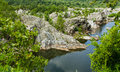 Great falls virginia potomac river at national park Stock Photos