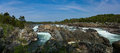 Great falls Waterfall on the Potomac River in Virginia USA Royalty Free Stock Photo