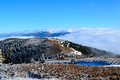 Great Fatra mountains - sunny day in early winter