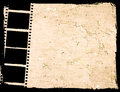 Great film strip for textures and backgrounds frame Stock Photography