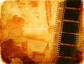 Great film strip for textures and backgrounds with space Royalty Free Stock Photography