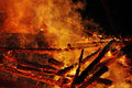 The great fire a violent brand Royalty Free Stock Photography