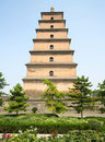 The Great Goose Pagoda Royalty Free Stock Photography