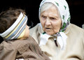 Great-grandmother. Stockfotos