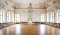 Great Hall Ballroom in Rundale Palace Royalty Free Stock Images