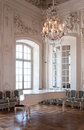 Great hall ballroom in Rundale palace Royalty Free Stock Photo