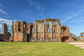 The Great Hall, Kenilworth Castle, Warwickshire. Royalty Free Stock Photo