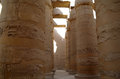Great hypostyle hall at the temples of karnak ancient thebes luxor egypt Stock Image