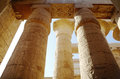 Great hypostyle hall at the temples of karnak ancient thebes luxor egypt Stock Images