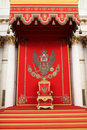 The great imperial throne in the St George Hall Royalty Free Stock Photo