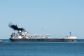 Great Lakes Bulk Carrier Royalty Free Stock Photo