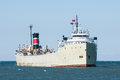 Great Lakes Cement Carrier Royalty Free Stock Photo