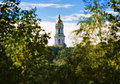 The Great Lavra Bell Tower in Kiev Stock Photography
