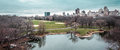 Great Lawn Oval at the Central Park in Manhattan, New York City Royalty Free Stock Photo