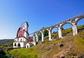 The Great Laxey Wheel - Isle of Man Stock Photography