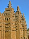 The Great Mosque of Djenne, Mali. Royalty Free Stock Photo