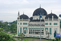 Great Mosque in Medan Royalty Free Stock Photos
