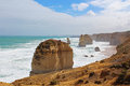 Great ocean road australia the apostles in the Stock Image
