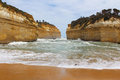 Great ocean road australia beach in the Royalty Free Stock Photos