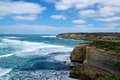 Great ocean road the famous in australia Stock Photo
