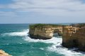 Great ocean road the famous in australia Royalty Free Stock Photo