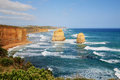 Great ocean road in victoria australia Stock Photo