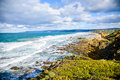 Great ocean road which is in australia Royalty Free Stock Photography