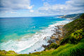 Great ocean road which is in australia Stock Image