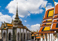 Great Palace Buddhist temple in Bangkok Royalty Free Stock Photo